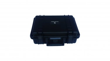 A gun ammo hard case pluck foam BB-0660 dust and waterproof storage black