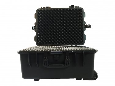 Remote control hard case pluck foam BB-4195 dust and waterproof storage black