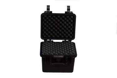 Remote control ammo hard case pull pluck foam BB-0838 dust and waterproof storage black