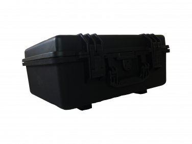 Tool hard case pull pluck foam BB-2730 dust and waterproof storage black