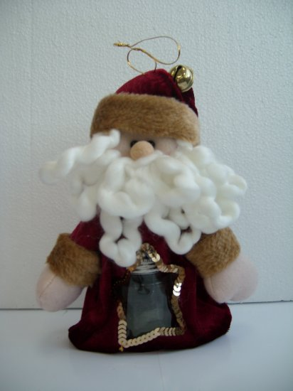 Santa chocolate bag
