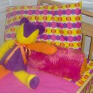 Diva Dots Toddler Little Girl 7 Piece Bedset
