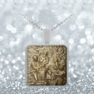 Nativity - Square Pendant Necklace