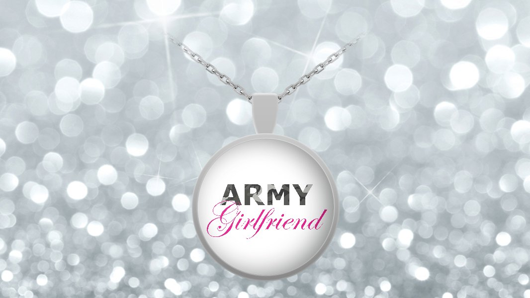Army Girlfriend - Necklace v2