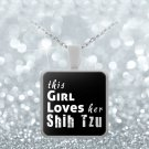 Shih Tzu - Necklace - Dog Gifts For Women - Gifts for Dog Lovers