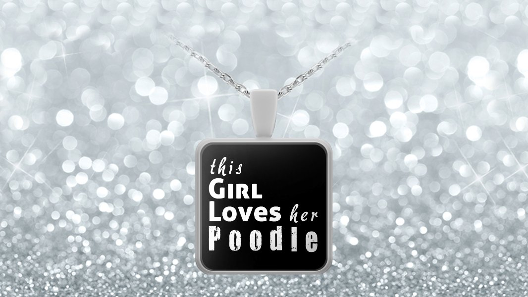 Poodle - Necklace - Dog Gifts For Women - Gifts for Dog Lovers