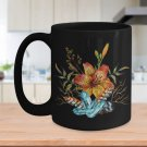 Tiger Lily Bouquet - 15oz Mug v2