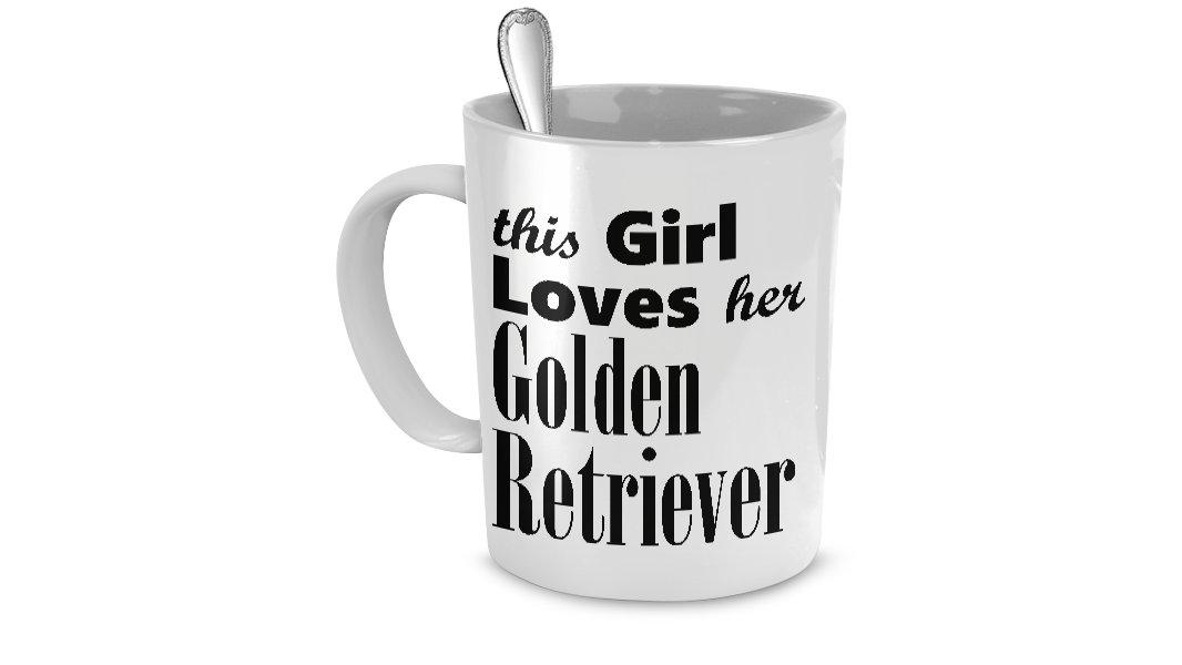 Golden Retriever - Mug - Dog Gifts For Women - Gifts for Dog Lovers