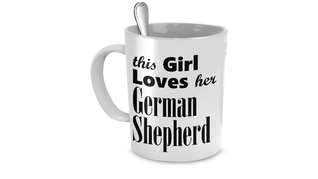 German Shepherd Dog - Mug - Dog Gifts For Women - Gifts for Dog Lovers