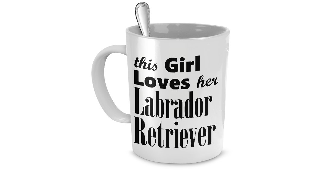 Labrador Retriever - Mug - Dog Gifts For Women - Gifts for Dog Lovers