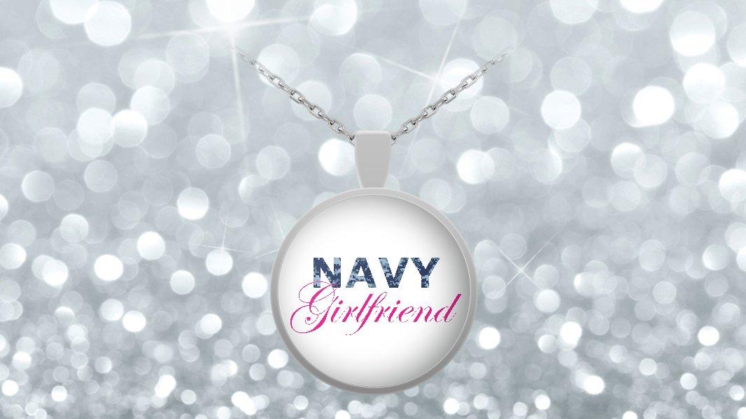 Navy Girlfriend - Necklace