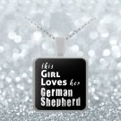 German Shepherd - Necklace - Dog Gifts For Women - Gifts for Dog Lovers