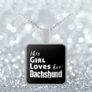 Dachshund - Necklace - Dog Gifts For Women - Gifts for Dog Lovers