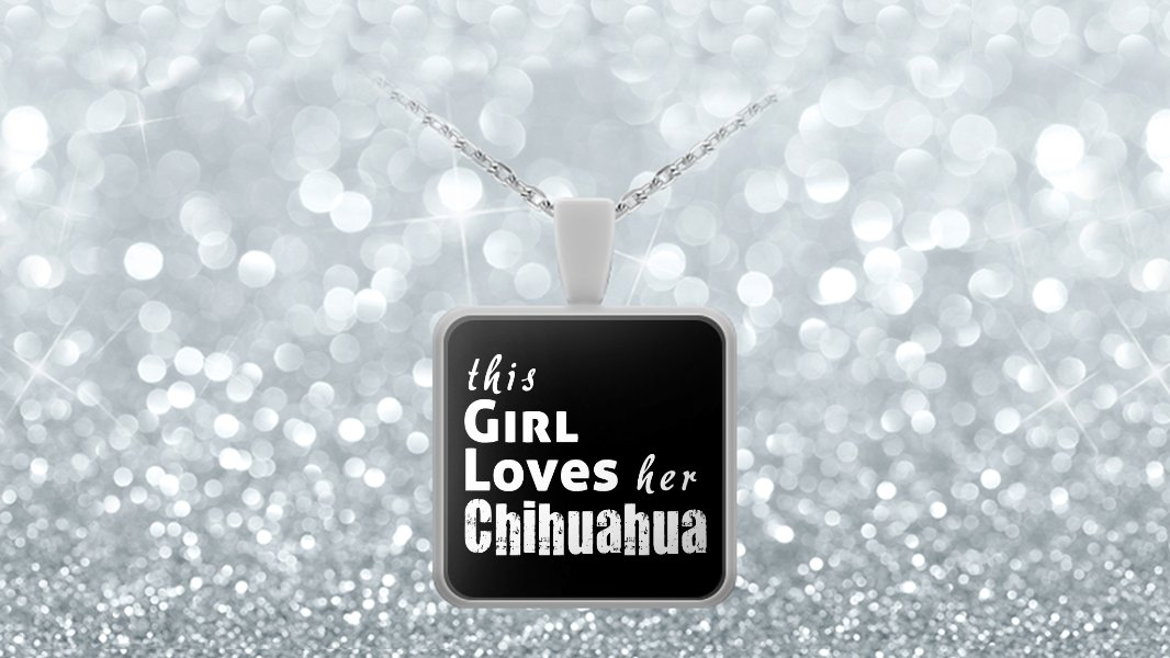 Chihuahua - Necklace - Dog Gifts For Women - Gifts for Dog Lovers