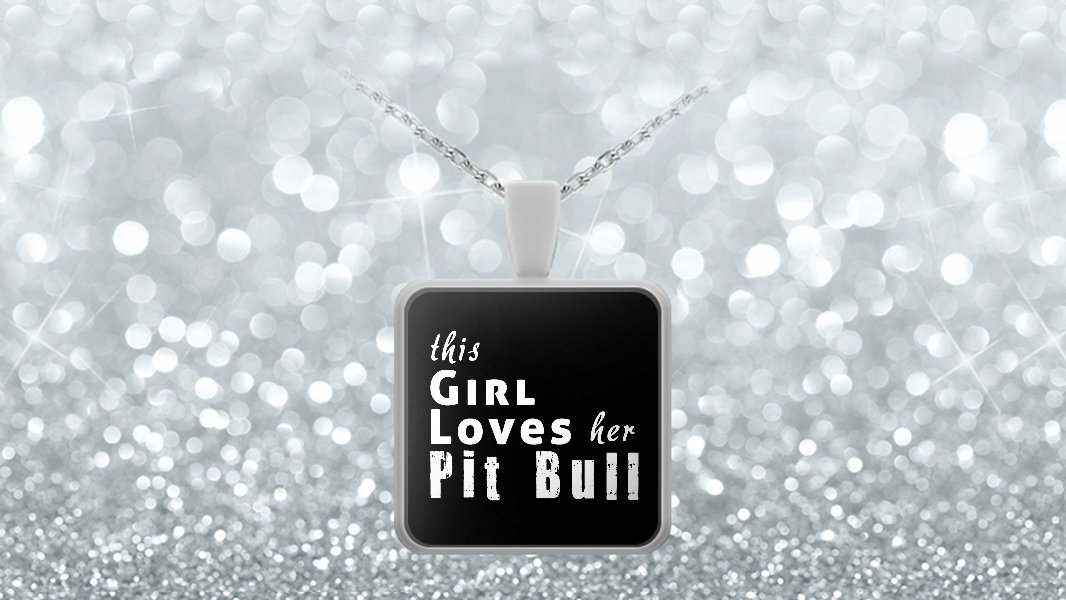 Pit Bull - Necklace - Dog Gifts For Women - Gifts for Dog Lovers