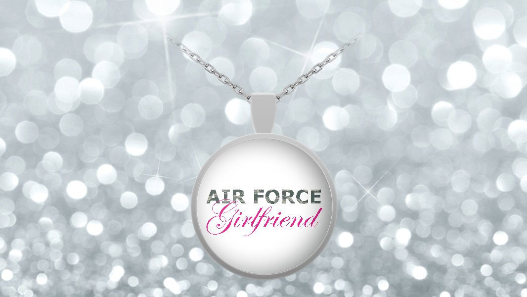 Air Force Girlfriend - Necklace