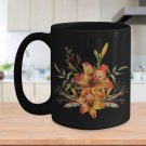 Tiger Lily Bouquet v2 - 15oz Mug v2
