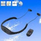 Waterproof Swimming Sports MP3 Player Flash Drive with Earphone Headphone (4GB)