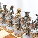 Chess set. Gift for men. Elite gift. Status. Luxury. Elite gift. Status present. Ukr. Jew. Silver.
