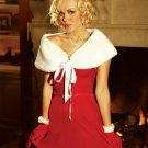 VELVET SANTA MINI DRESS SIZE (LARGE 37-40)