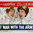 At War With The Army (1950) - Jerry Lewis DVD