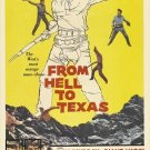 From Hell To Texas (1958) - Don Murray DVD