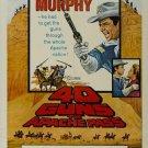 40 Guns To Apache Pass (1966) - Audie Murphy DVD