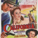 California (1947) - Barbara Stanwyck DVD
