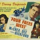 Four Faces West (1948) - Joel McCrea DVD