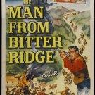 The Man From Bitter Ridge (1955) - Lex Barker DVD