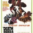 Death Rides A Horse (1967) - Lee Van Cleef DVD