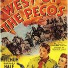 West Of The Pecos (1945) - Robert Mitchum DVD