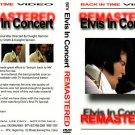 Elvis - Live In Concert - Remastered DVD