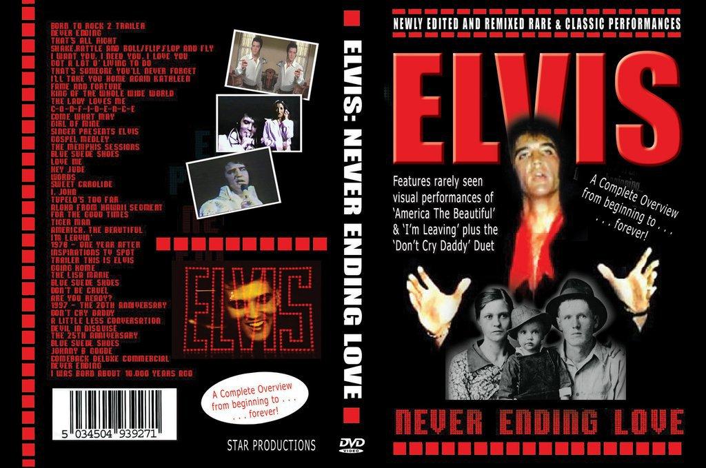 Elvis - Never Ending Love DVD