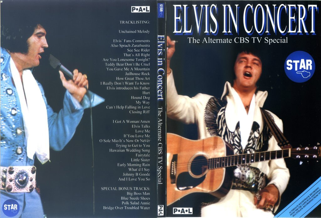 Elvis In Concert - The Alternate CBS TV Special - DVD
