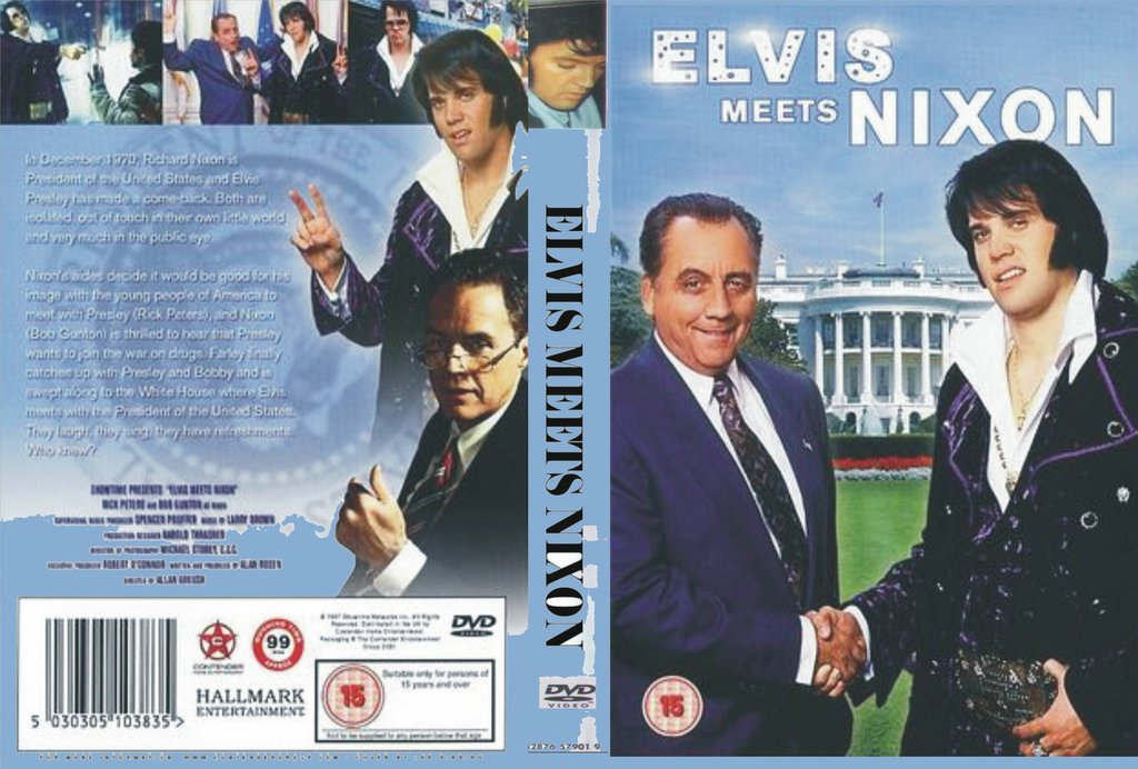 Elvis Meets Nixon - codefree DVD