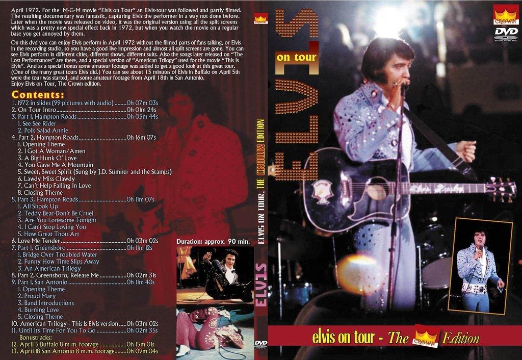 Elvis On Tour - Extended Version DVD