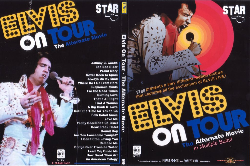 Elvis On Tour - The Alternate Movie DVD