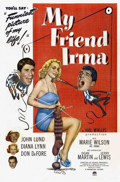 My Friend Irma (1949) - Jerry Lewis DVD