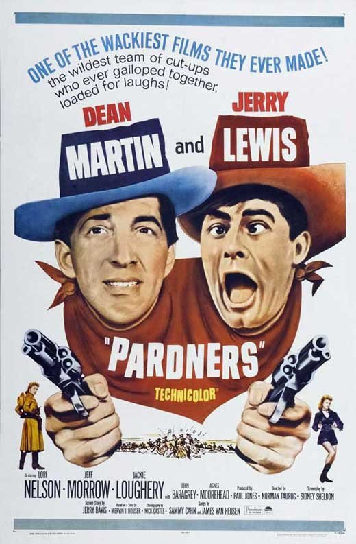 Pardners (1956) - Jerry Lewis DVD