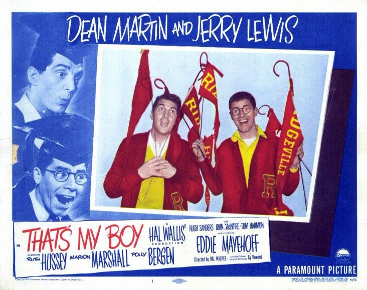 That´s My Boy (1951) - Jerry Lewis DVD