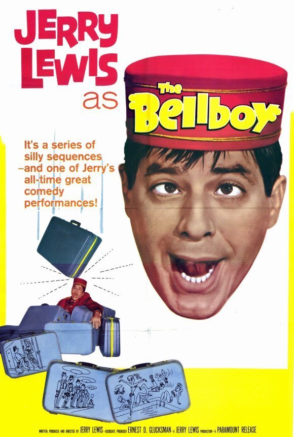The Bellboy (1960) - Jerry Lewis DVD
