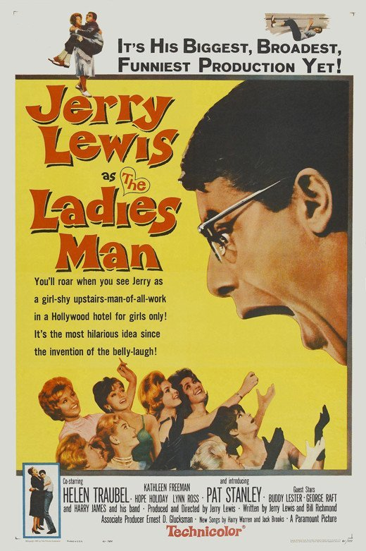 The Ladies Man (1961) - Jerry Lewis DVD