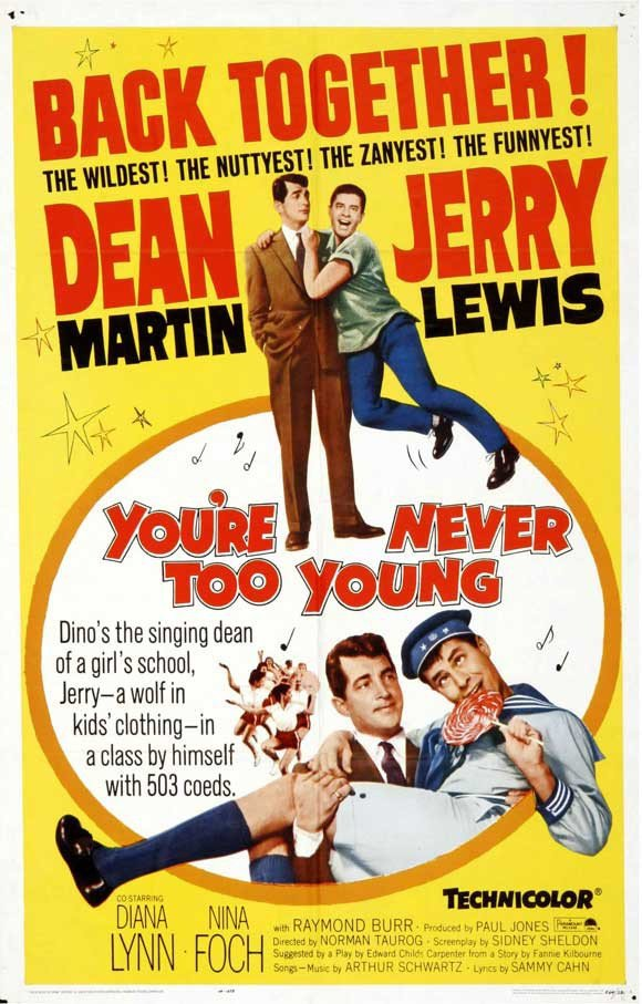 You´re Never Too Young (1955) - Jerry Lewis DVD