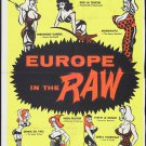 Europe In The The Raw (1963) - Russ Meyer DVD
