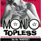 Mondo Topless (1966) - Russ Meyer DVD