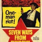 Seven Ways From Sundown (1960) - Audie Murphy DVD