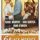 Six Black Horses (1962) - Audie Murphy DVD