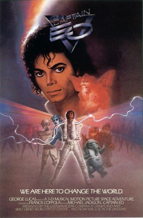 Captain EO (1986) - Michael Jackson DVD + Making Of