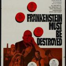 Frankenstein Must Be Destroyed (1969) - Peter Cushing DVD